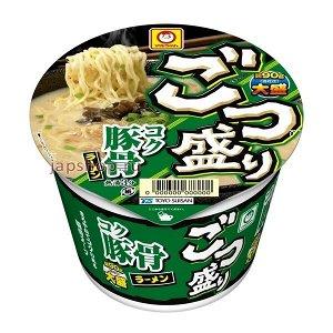 Лапша Рамен со свининой, чесноком, кунжутом, луком, 115 гр, Япония