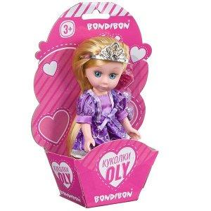 Набор игровой Bondibon 16,5см кукла OLY с аксессуарами, CRD-конверт 13x19x4,5см, арт. 63014.