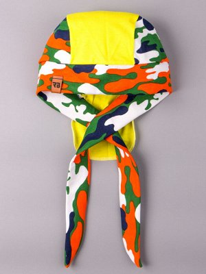 Бандана трикотажная, нашивка RB, разноцветный милитари