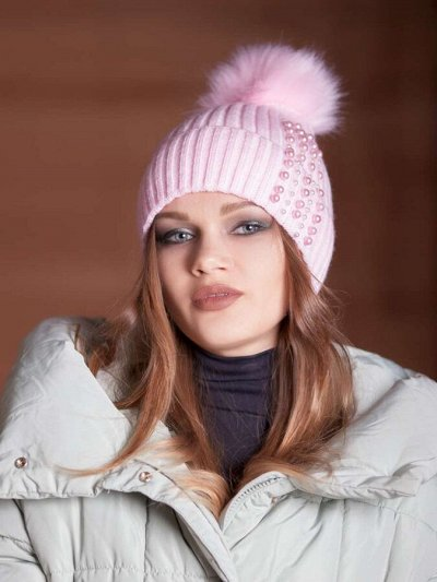 ТМ *РусБубон*. Зима, Демисезон, Новиночки — Женщины. Зима — Вязаные шапки