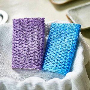 Премиум скраббер для посуды Sung Bo Cleamy Premium Mesh Scrubber 1 шт №366