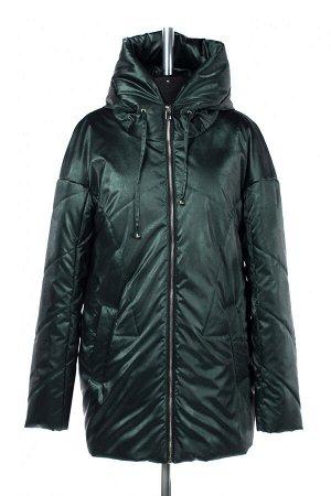 04-2578 Куртка демисезонная (синтепон 150) Плащевка Темно зеленый