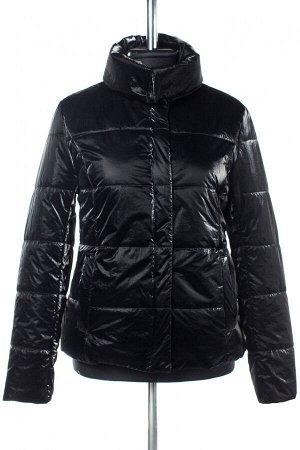 04-2566 Куртка демисезонная (Синтепон 100) Плащевка черный