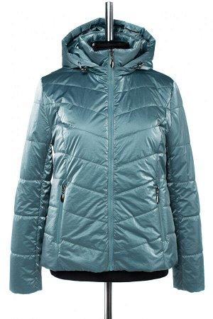 04-2602 Куртка демисезонная (синтепон 100) Плащевка серо-голубой