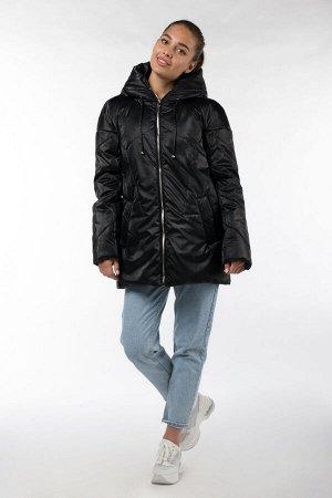 04-2577 Куртка демисезонная (синтепон 150) Плащевка черный