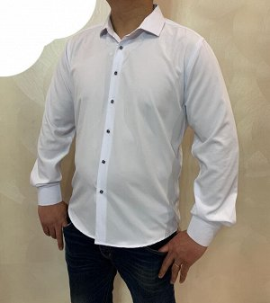 Рубашка 80% ХЛОПОК, 20% Стрейч