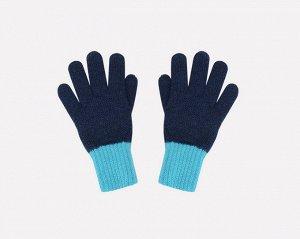 Перчатки детские Crockid К 134/ш светлая лагуна, темно-синий