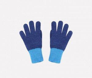 Перчатки детские Crockid К 134/ш яркая бирюза, синий