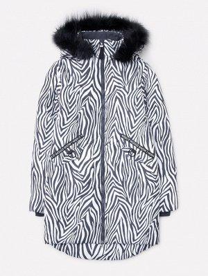 Пальто зимнее для девочки Crockid ВК 38052/н/1 ГР