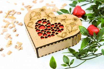 Мини-презентики для родных, коллег от 31 руб на любой повод🍫 — Подарочный конфетный набор в деревянной шкатулке — Шоколад