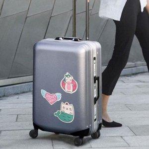 Набор для чемодана «Улетаю от проблем», 2 предмета: бирка, наклейки 10 шт