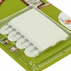 Легкоудаляемые настенные застежки для рамок картин сред до 1,3 кг, набор 6 шт