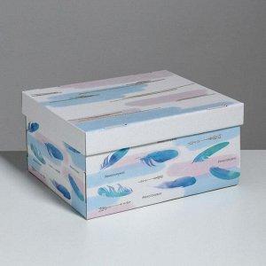 Складная коробка «Лёгкости», 31,2 х 25,6 х 16,1 см