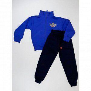 Спортивный костюм 0356/1 (василек, наклейка)