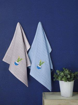 Кухонные полотенца  вафельные pedro 45x65 см 1/2