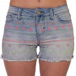 Женские джинсовые шорты Cherokee – этно мотивы – это всегда красиво №257