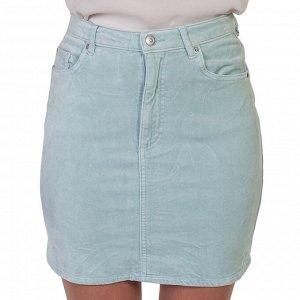 Женственная джинсовая юбка – одна из интерпретаций стильной модели «карандаш» №205