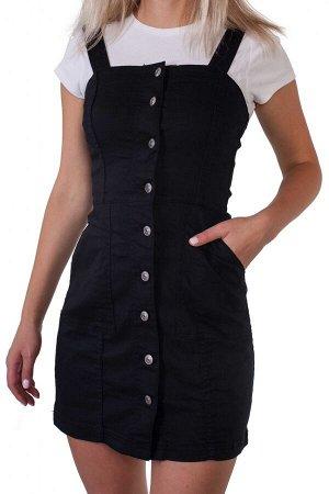 Женское платье-сарафан – стройнящий эффект корсета №214