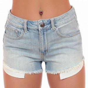 Потрёпанные дизайнерами из American Eagle джинсовые шорты с бахромой. Делай попой ача-ача хоть на каблучках, хоть в кроссовочках №253