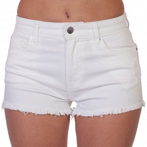 Белые женские шорты с бахромой – для стильных молодежных аутфитов № 204