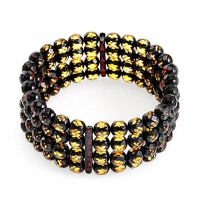 Бижу из настоящего Янтаря      — Гранёные браслеты — Браслеты