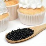 Драже воздушного риса в цветной кондитерской глазури, чёрный уголь, 2-5 мм, 50 г