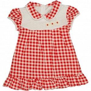 Платье 724/12 (красная клетка)