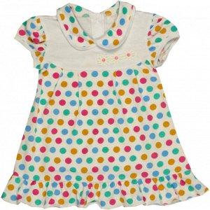 Платье 724/13 (цветной горох)