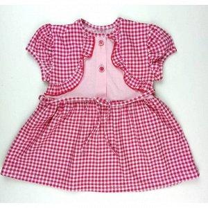 Платье 791/1 (мелкая клеточка)