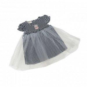 Платье №1 (клетка, серая)