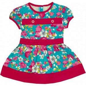 Платье 7035 (цветы) 30/110