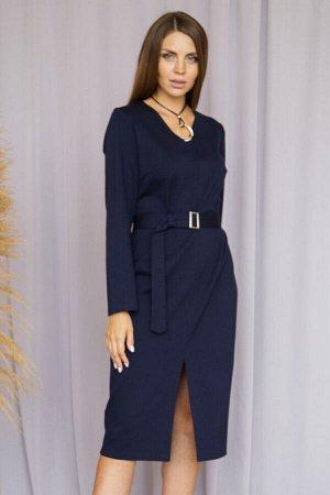 Платье 377/2, темно-синий