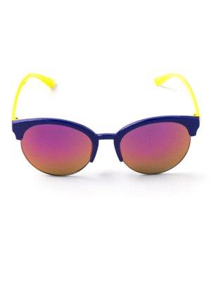 Очки детские желтые заушники, синий