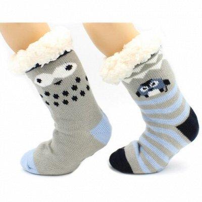 Детям теплые носки, перчатки, лосины ❄  — Носки с мехом внутри — Для мальчиков