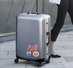 Наклейки на чемодан 01