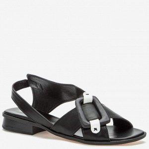 807278/02-01 черный иск.кожа женские туфли открытые