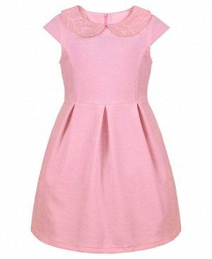 Розовое платье для девочки 82993-ДН18