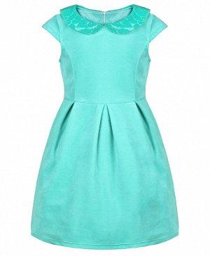 Бирюзовое платье для девочки 82992-ДН18