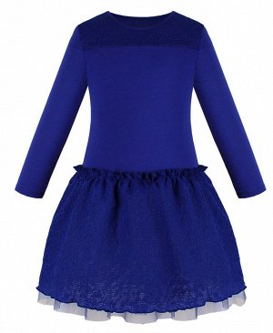 Синее платье для девочки 83212-ДН18