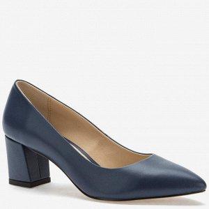 907034/01-06 синий иск.кожа женские туфли