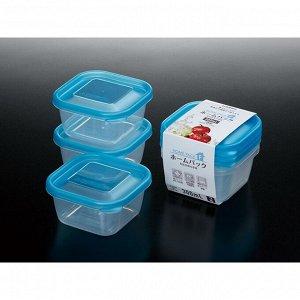 Набор контейнеров синий 3*300мл
