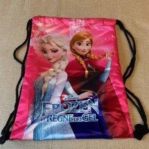 Рюкзак/мешок для обуви цвет розовый