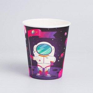 Стакан бумажный «Космонавт», набор 6 шт.