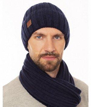M 421 F 421 флис (52-54) (шапка+шарф) Комплект
