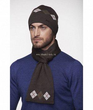 828 T флис (шапка+шарф) Комплект