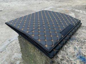 Органайзер Маленький Эко Кожа в багажник авто Черный с бежевой строчкой Akuma