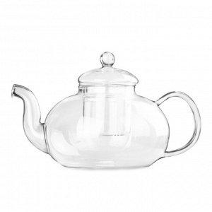 """Заварочный чайник """"Смородина"""" из термостойкого стекла 1500 мл"""