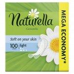 NATURELLA Женские гигиенические прокладки на каждый день Camomile Light 100шт