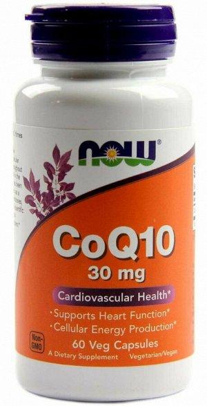 Коэнзим Q10 Coq10 30 mg Now 60 капс.
