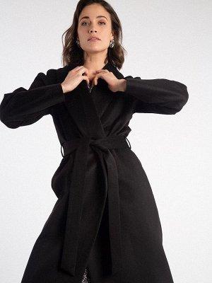 Однотонное пальто R046/hoshimin